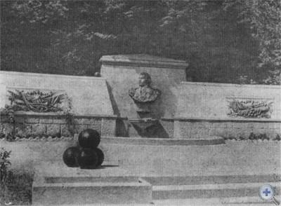 Одна из башен крепости Алустон (VI в.). Алушта, 1969 г.