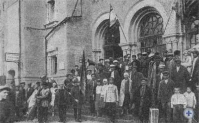 Делегаты Днепропетровского областного съезда колхозников. 1933 г.
