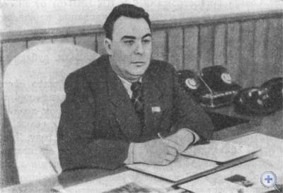 Первый секретарь Днепропетровского обкома Компартии Украины Л. И. Брежнев. 1947 г.