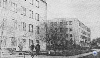 Общежития сельского профтехучилища № 7. Саксагань, 1977 г.
