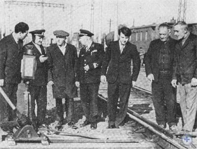 Синельниковские железнодорожники в гостях у своих коллег — железнодорожников Гурджаанского района Грузинской ССР. 1976 г.