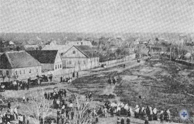 Одна из улиц Томаковки. 1908 г.