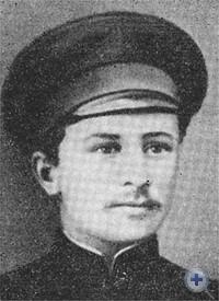 А. С. Опалатенко — первый председатель Китайгородского Совета крестьянских и солдатских депутатов. Февраль 1918 г.
