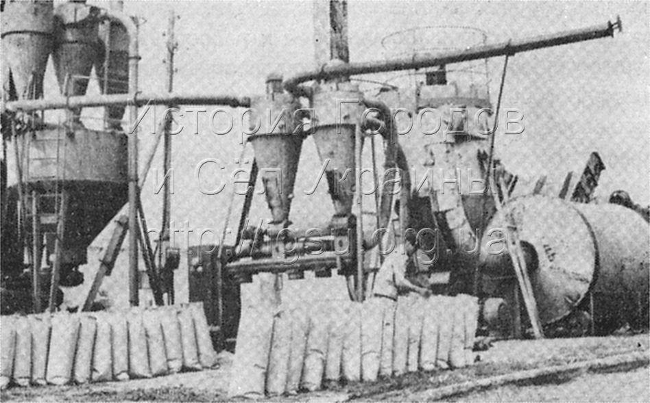 Изготовление кормов на Солонянской птицефабрике. 1976 г.