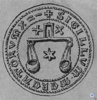 Печать Львовского цеха портных.