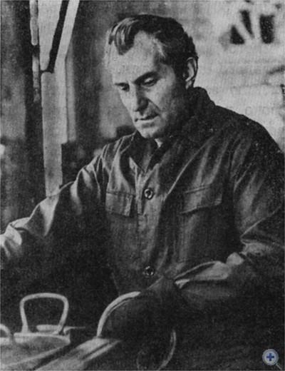 Н. И. Милян — Герой Социалистического Труда, делегат XXV съезда КПСС. 1975 г.