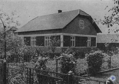 Жилой дом колхозника. Ходовичи, 1976 г.