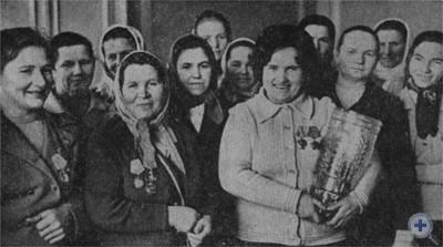 Передовые доярки Львовщины. 1976 г.