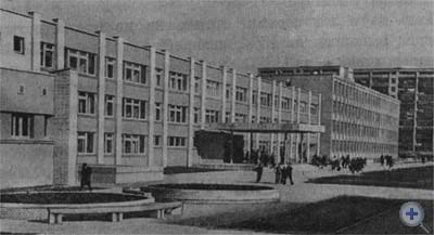 Средняя школа № 36 по улице Научной. Львов, 1976 г.