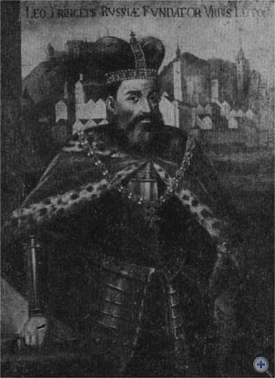 Князь Лев Даниилович. Копия худ. Л. Долинского (XVIII в.) с картины неизвестного художника.