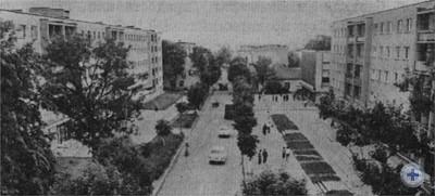 Улица Ленина (бывшая Панская). Борислав, 1977 г.