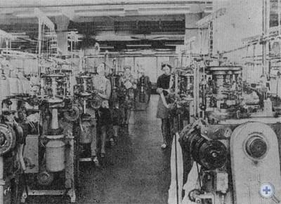 Цех чулочно-носочной фабрики. Червоноград, 1976 г.