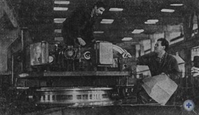 В главном корпусе Снигиревского ремонтно-механического завода. 1980 г.