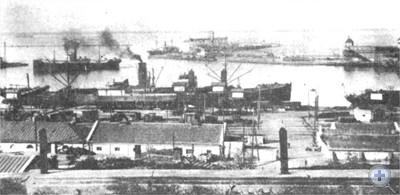 Одесский порт во второй половине XIX в.