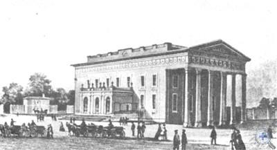 Городской театр. Одесса, 1809 г.