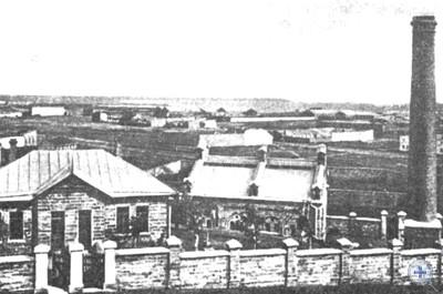 Вид на Пересыпь с Жеваховой горы. 1904 г.