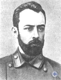 Д. И. Ульянов, агент ленинской «Искры» в Одессе. 1902 г.