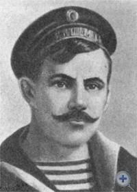 Г. Н. Вакуленчук, П. И. Матюшенко — руководители восстания на броненосце «Потемкин». 1905 г.