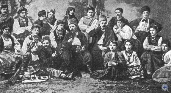 Труппа М. Л. Кропивницкого в Одессе. Конец XIX в.