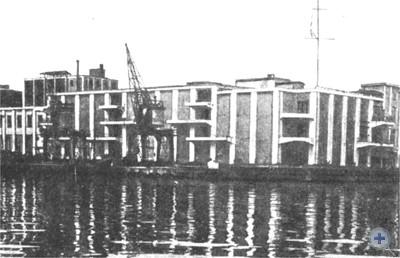 Портовый холодильник — новостройка первой пятилетки. 1931 г.