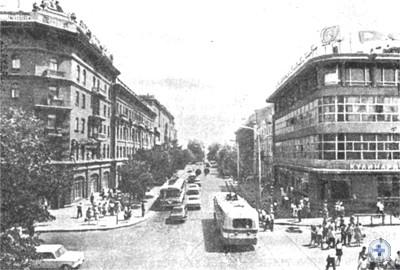Улица Дерибасовская. 1976 г.