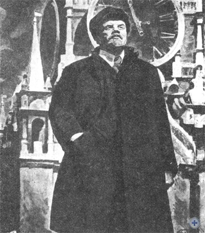 «Новое время». Картина народного художника СССР М. М. Божия. 1969 г.