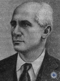 Академик И. Г. Александров, автор проекта Днепрогэса. 1932 г.