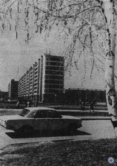 Хортицкий жилой массив в Запорожье. 1979 г.